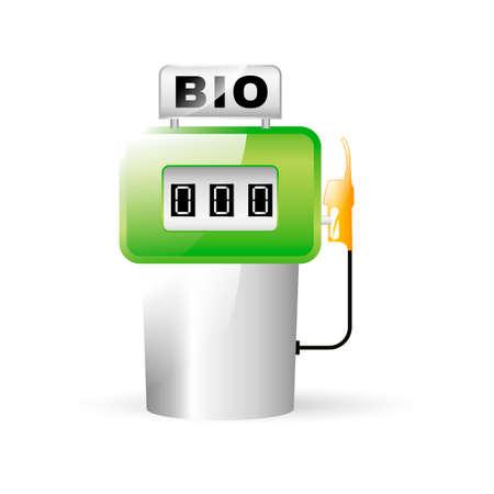bio fuel: Bio fuel pump Illustration