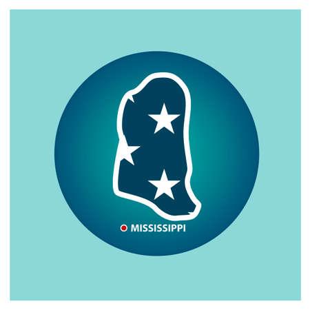 tennessee: Mapa del estado de Tennessee