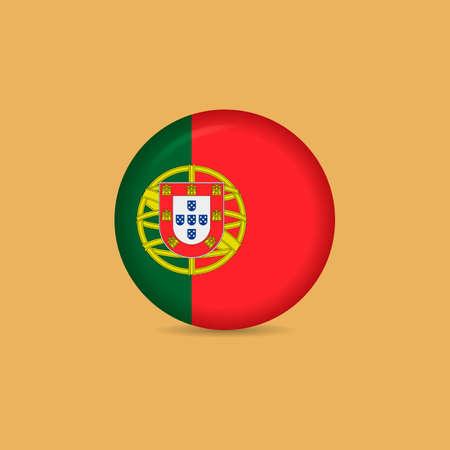 portugal: Portugal button badge