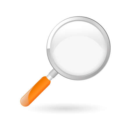 Magnifying glass Stock Illustratie