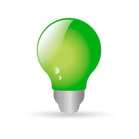 green bulb: Green bulb