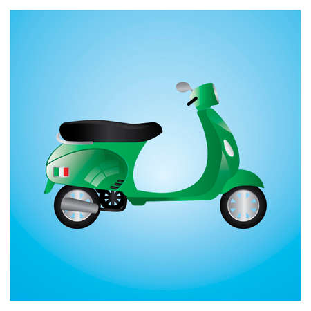 motor scooter: Motor scooter