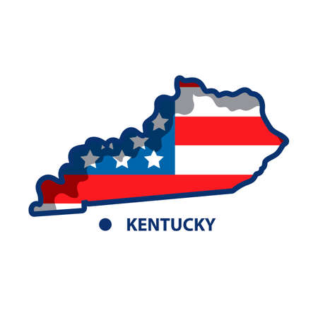 kentucky: Map of kentucky