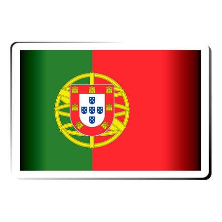 bandera de portugal: Portugal icono de la bandera
