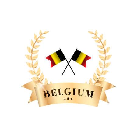 glassy: Belgium badge