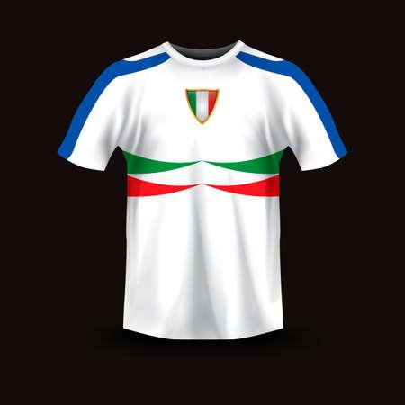 sportswear: Italian sports jersey