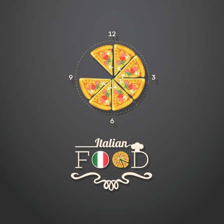 numers: Italian food