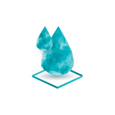 droplets: Water droplets Illustration
