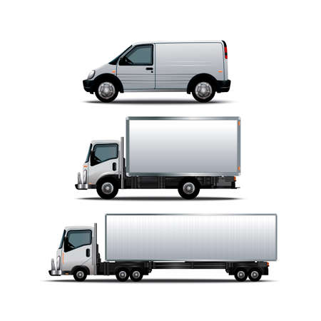 vehicle icon: Collection of vehicles Illustration