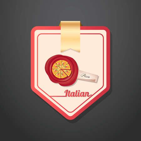 italian food: Italian food labels