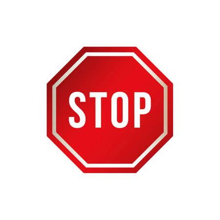 znak drogowy: Stop road sign