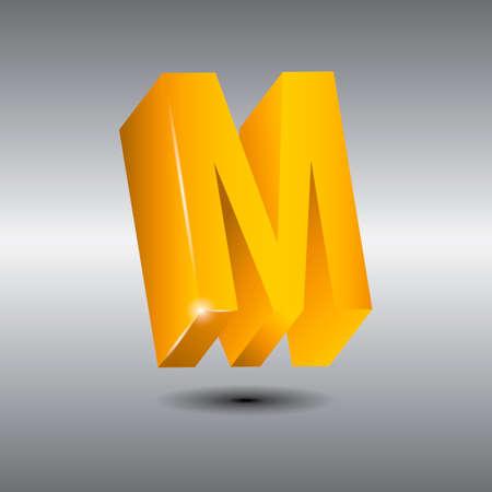 letra m: Letter m