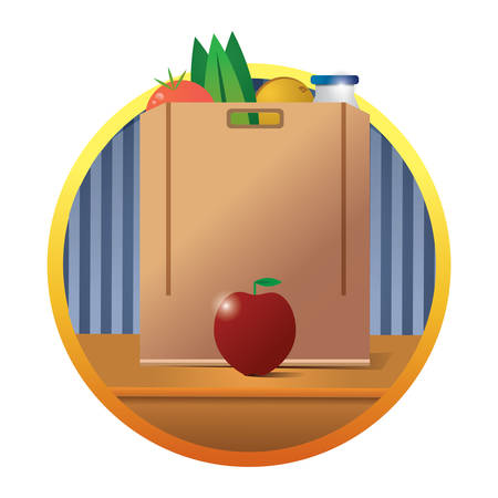 bolsa supermercado:
