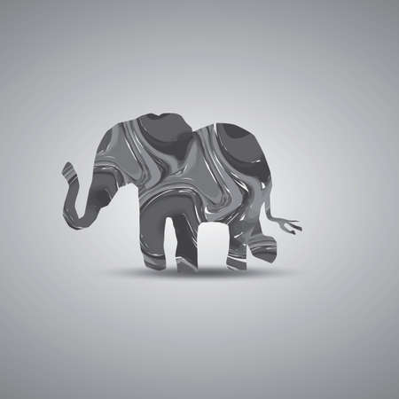 cut outs: Elephant Illustration
