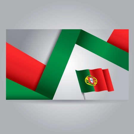 portugal: Portugal flag banner
