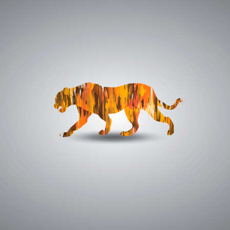cut outs: Tiger