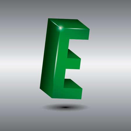 letter e: Letter e