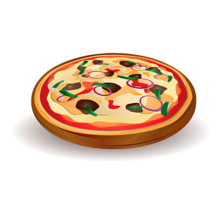 mozzarella: Pizza