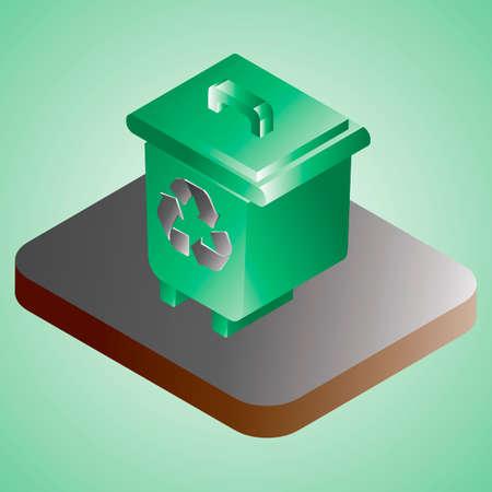 papelera de reciclaje:
