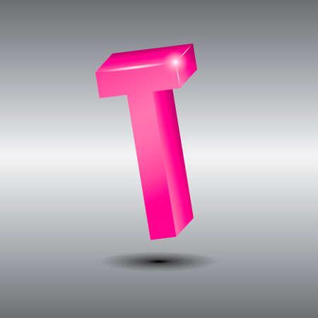 consonant: Letter t