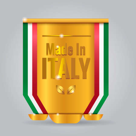 em: Made in Italy badge
