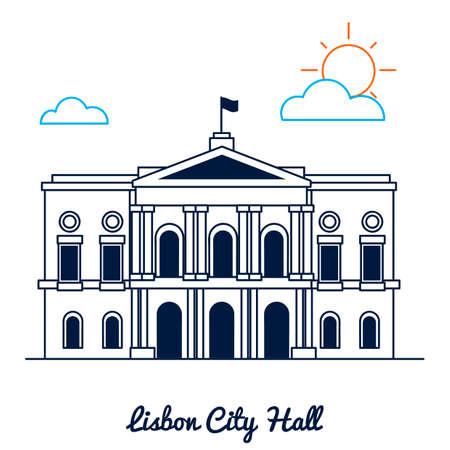 lisbon: Lisbon city hall