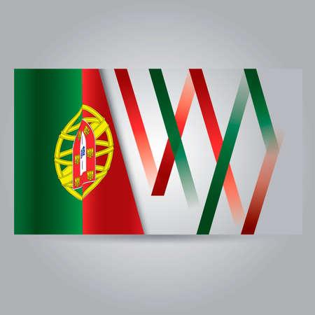 drapeau portugal: Portugal drapeau banni�re