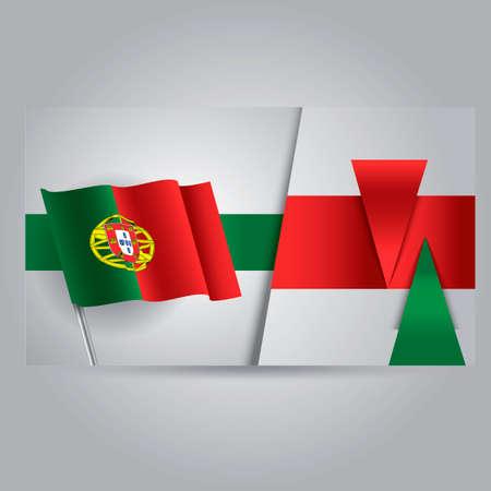 drapeau portugal: Portugal flag banner