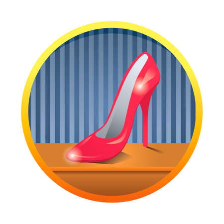 heel: High heel shoe