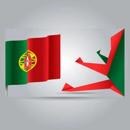 drapeau portugal: Portugal drapeau bannière