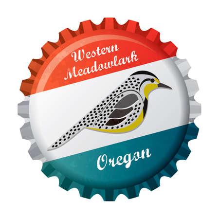 oregon: Western meadowlark