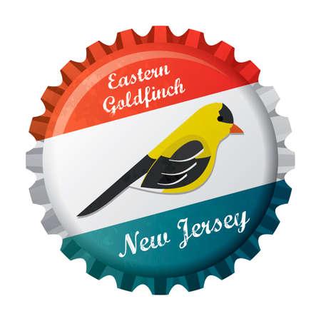 goldfinch: Eastern goldfinch