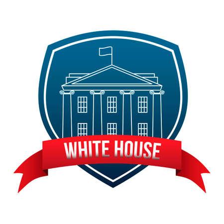 casa blanca: Etiqueta de la casa blanca