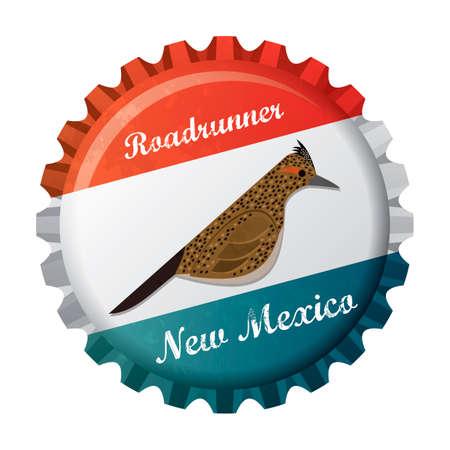 Roadrunner bird Vector Illustration