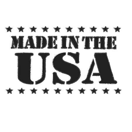 manufactured: Made in usa label