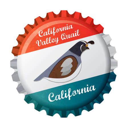 California valley quail Imagens - 45435766