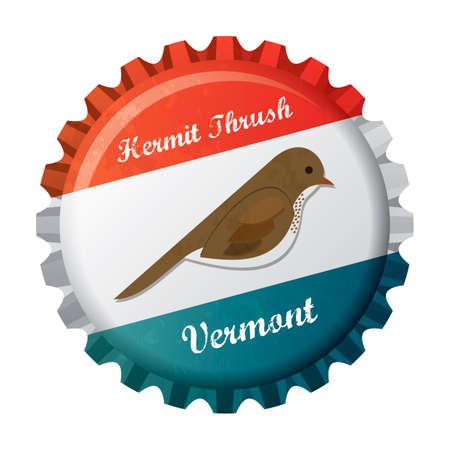 thrush: Hermit thrush