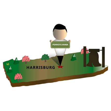 pennsylvania: Pennsylvania state map
