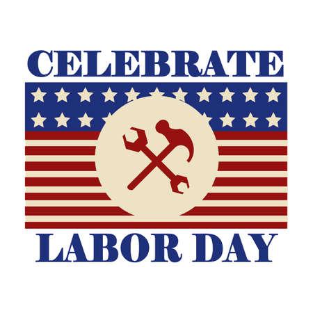 祝う: ラベルの労働日を祝う