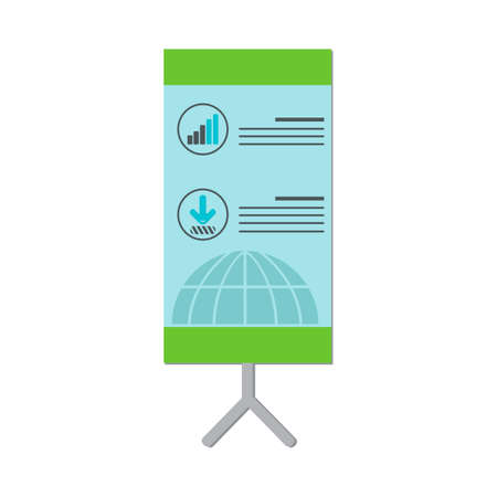 board: Isometric presentation board