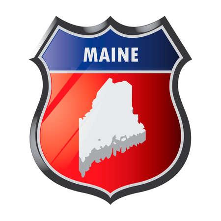 maine: Maine state