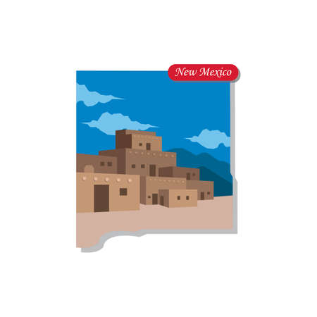 new mexico: New Mexico state map