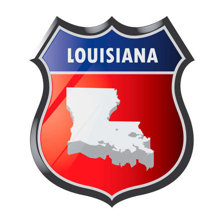 louisiana state: Louisiana state shield