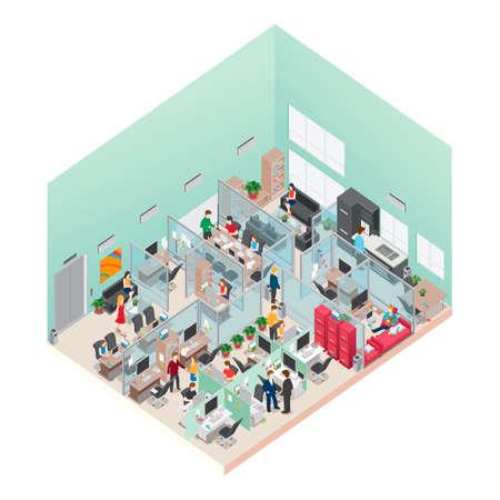 Isometric office