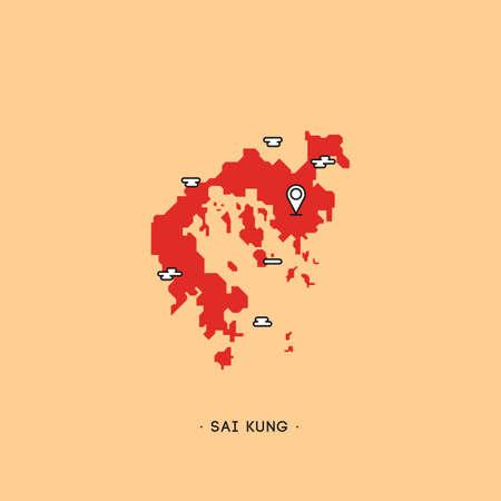 kung: sai kung map