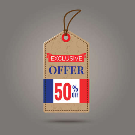 exclusive: exclusive offer tag