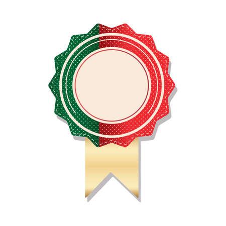 portugal flag: portugal flag rosette