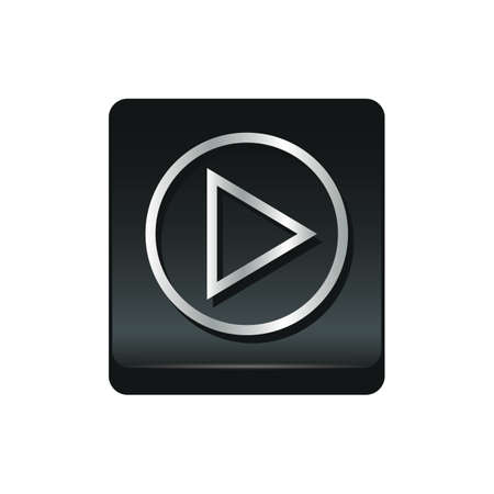 media player: media player icon Illustration