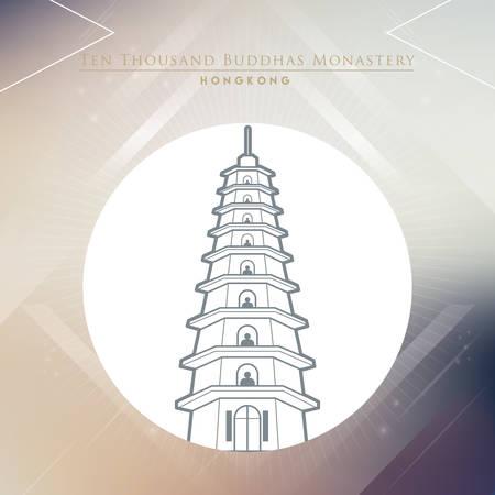 thousand: ten thousand buddhas monastery