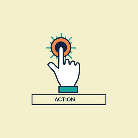implement: action Illustration